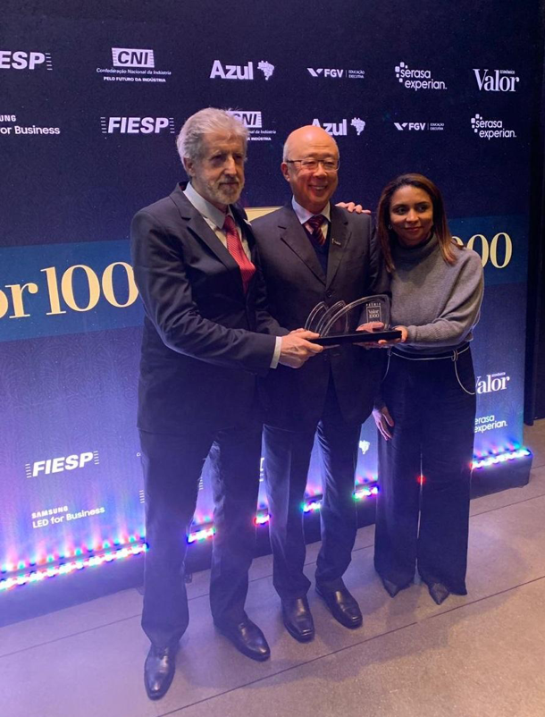 Henrique Carsalade Martins | Brookfield Brasil | NTS é premiada na 19ª edição do Prêmio Valor 1000
